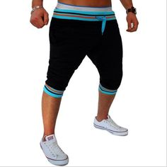 Men's Clothing Chsdcsi Beach Shorts Summer Board Shorts Elastic Waist Harem Deportes Male Fitness Short Trousers Swimmer Clothing 10 Colors Making Things Convenient For The People