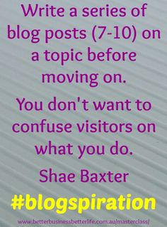 Want Smart Blogging & SEO Tips? Join Our FREE Masterclass http://www.betterbusinessbetterlife.com.au/masterclass/