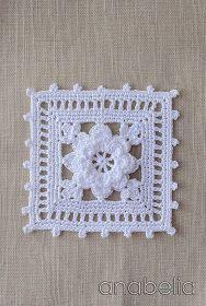 Transcendent Crochet a Solid Granny Square Ideas. Inconceivable Crochet a Solid Granny Square Ideas. Motifs Granny Square, Crochet Motifs, Crochet Blocks, Granny Square Crochet Pattern, Crochet Squares, Thread Crochet, Crochet Crafts, Crochet Projects, Crochet Patterns