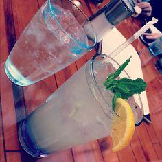 Lavender Lemonade from the Gaylord Opreyland hotel yum!