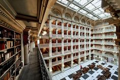 George Peabody Library in Baltimore