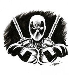 Deadpool by LostonWallace.deviantart.com on @deviantART