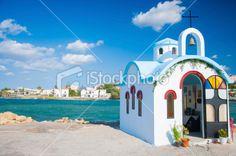 Small church in Crete, Greece
