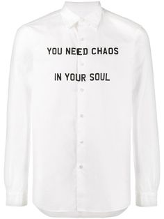 Uniform Experiment Typography shirt