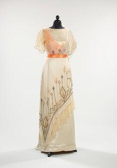 Evening Dress 1911-1913 The Metropolitan Museum of Art