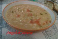 Zuppa di fagioli spollichini   Angolo Cottura