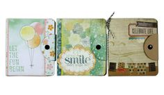 Altered snap notebooks.