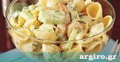 Μακαρονοσαλάτα με γαρίδες από την Αργυρώ Μπαρμπαρίγου | Η σως με μαγιονέζα και γιαούρτι δίνει νοστιμιά στα ζυμαρικά και ταιριάζει απίστευτα με τις γαρίδες!