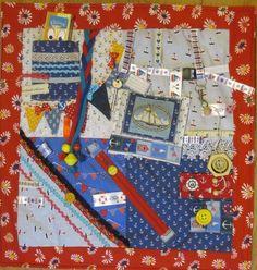 Fidget lap quilt, sensory, dementia, stroke rehab stimulation quilt; Look!