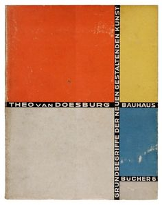 Bauhausbücher 6 | Theo Van Doesburg, 1925   @PenguinUKBooks  via @CanonJulie