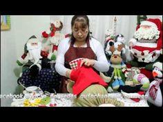Xmas Crafts, Dyi Crafts, Wool Felt, Santa, Dolls, Gnomes, Youtube, Christmas, Patchwork Natal