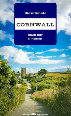 Many consider Cornwall one of the most scenic stretches of coastline in England. You'll find over 400 miles of amazing coast, sandy beaches, hidden coves and oodles of English heritage. As one of the few counties in England without a motorway, Cornwall is Devon And Cornwall, England And Scotland, Roadtrip, English Countryside, British Isles, Great Britain, Travel Inspiration, Sandy Beaches, Places To Visit