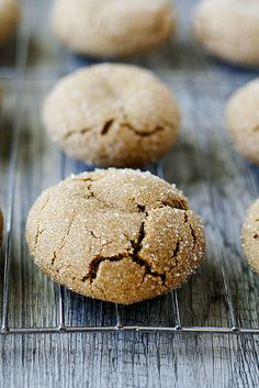 soft and chewy ginger cookies by Heather's French Press, via Flickr