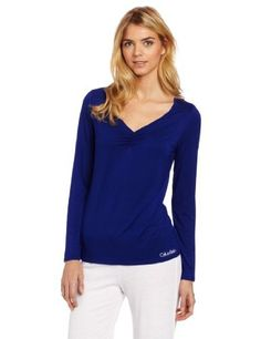 Calvin Klein Women's Modal Long Sleeve Sleep Shirt Calvin Klein. $35.10. sleepshirt. modal. 92% Modal/8% Lycra. Made in China. Machine Wash