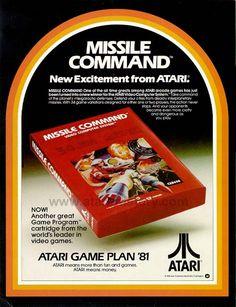 Missle Command Retro Video Game Ads - Imgur #Atari