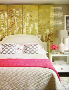 Pink and gold...love it!