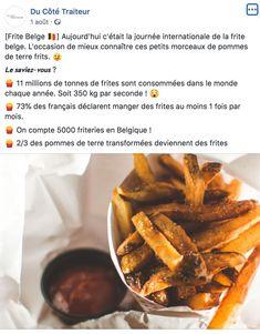 Le Saviez -Vous - Du Côté Traiteur Beef, Food, International Cat Day, Catering Business, Calendar, Meat, Essen, Meals, Yemek