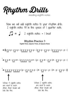 Music Theory Lesson 2 - Reading Counting & Clapping Rhythms - No Prep Printable! Music Education, Health Education, Physical Education, Music Theory Lessons, Music Classroom, Music Teachers, Music Lesson Plans, Music Writing, Music Worksheets