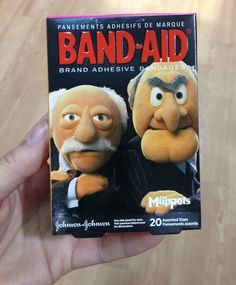 Awesome #TheMuppets #packaging from Band-Aid – love these guys!