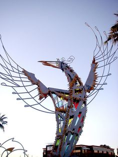 Phoenix Bird sculpture in Phoenix, AZ