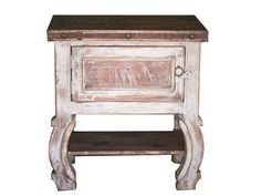 White Wash Small Vanity by FoxDenDecor on Etsy