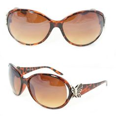 Oval Butterfly Fashion Sunglasses 11246 Brown Leopard Amber Gradient Lens for Women . $9.99. Smart design to fit your face curve. Absolute comfort for everyday wear.. FREE 1x micro fiber cloth. UV400 Lens Technology, absorbing over 99% of harmful UVA and UVB spectrums.. Extremely stunning and stands out fashionably.. FREE 1x leather protective pouch