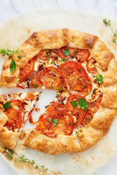 Recipe: Tomato and Feta Galette — Quick and Easy Vegetarian Dinners
