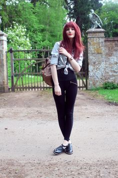 That Evening Sun Uk Fashion, Vintage Fashion, Fashion Outfits, Red Hair With Bangs, Evening Sun, Hairstyles With Bangs, What I Wore, Personal Style, Beautiful Women