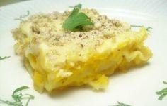 Lasagne à la courge musquée (butternut) et noisettes