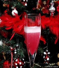 Ricetta Bimby dell' Aperitivo al Melograno. Chiamato anche Cocktail della Fortuna perfetto da servire la notte di Capodanno, per il Cenone. Bevanda sana