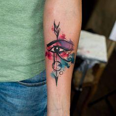 49.3 тыс. подписчиков, 1,271 подписок, 618 публикаций — посмотрите в Instagram фото и видео Kateryna Zelenska (@tattoozelenska) Ahnk Tattoo, Eye Of Ra Tattoo, Tattoo Bunt, All Seeing Eye Tattoo, Unique Tattoo Designs, Tattoo Designs For Women, Tattoos For Women, Tattoos For Guys, Dope Tattoos
