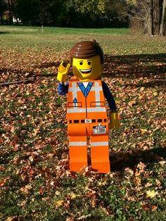 Emmet (Lego Movie) Costume, Full Tutorial : Instructables