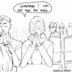3/3 Yuri on Ice: Brother bear (omg otabek joins the prayer)
