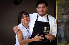 Chef Eduardo García and wife Gabriela, of Maximo Bistrot Local in Mexico City