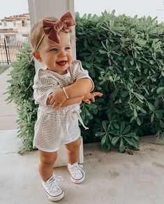 She's really got the Sunday lounge wear look down.& making me wish we could share clothes👯♀️ Cute Baby Names, Cute Baby Pictures, Cute Little Baby, Baby Kind, Little Babies, Cute Babies, Beautiful Pictures, Cute Baby Girl Outfits, Baby Outfits Newborn