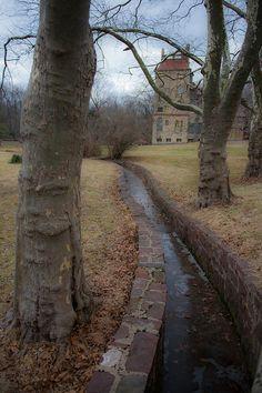 Fonthill Castle in Doylestown, PA.