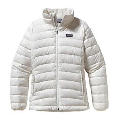 Patagonia 'Down' Sweater SIZE GIRLS XL (14) Fits like a woman's small. Worn under 5 times and dry cleaned. The wear on the tag is from the dry cleaner tag!! Patagonia Jackets & Coats Puffers