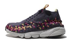 "Nike Air Footscape Woven Chukka ""Wool"" Purple/Gold"