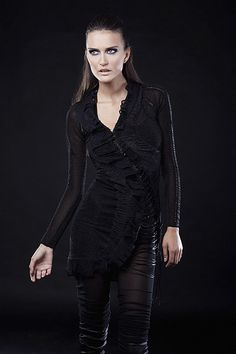 Iva Sokovic Multi-Textured Lace-up Dress Fall Winter, Women Wear, Lace Up, Blue, Collection, Dresses, Fashion, Vestidos, Moda