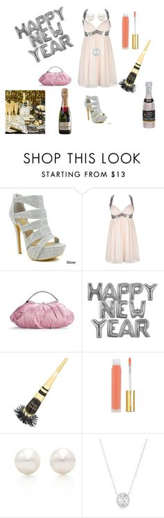 """happy new year"" by hyuna-newmoon ❤ liked on Polyvore featuring beauty, Celeste, Lipsy, Lulu Townsend, Isaac Mizrahi and Tiffany & Co."