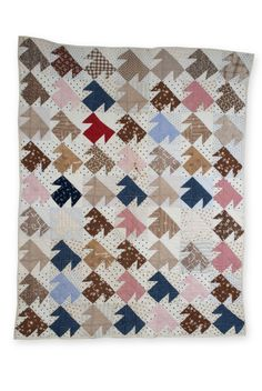 Mixed T Baby quilt