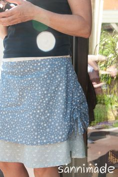 LOVE LOVE LOVE that skirt!!!     Good morning everyone! Today I'd love to share my favorite skirt pattern with you! :-D Check it out!     http://sannimade.blogspot.de/2013/05/love-love-love-rock-maritim-mmm.html