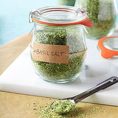 I will make this once my basil grows and I can harvest it!