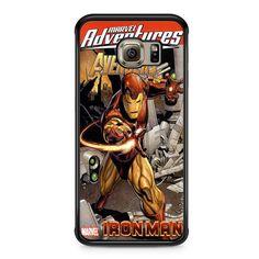 Iron Man Marvel Adventures Comic Samsung Galaxy S6 Edge case