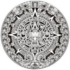Laurita Tortolita - Aztec Calendar