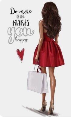 # Girl # illustration # increased # I draw Vogue girl? Foto Fashion, Fashion Art, Trendy Fashion, Girl Fashion, Fashion Design, Fashion Sketches, Fashion Illustrations, Fashion Illustration Chanel, Fashion Drawings