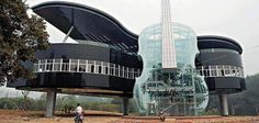 What would you say about this amazing design of the building? Hainan City, Ann Hoey territory in China