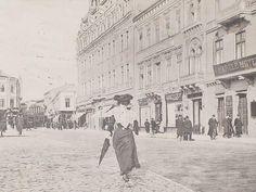 Bucuresti - Hotel Continental - Calea Victoriei - 1907 Old Pictures, Old Photos, Little Paris, Bucharest, Photo Archive, Time Travel, Romania, Tourism, Places To Visit