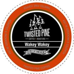 Twisted Pine Coffee Wakey Wakey Super Charged Medium Roast SingleServe Cups for Keurig KCup Brewers 80 Count *** You can get more details by clicking on the image.