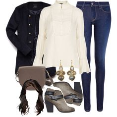 """Allison Inspired Chilly Day Out Outfit"" by veterization on Polyvore"